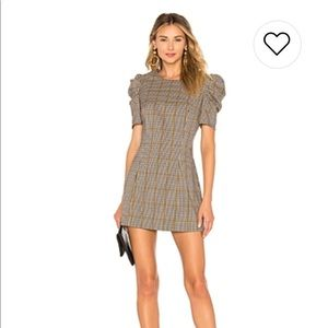 Amanda uprichard puff sleeve dress